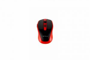 Mouse Serioux, Pastel 600, fara fir, USB, senzor optic, distanta de operare; 10m, precizie: 1000/1600DPI ajustabila, 6 butoane, 2x baterie AAA, sisteme de operare: Windows / Mac OS / Linux, rosu3