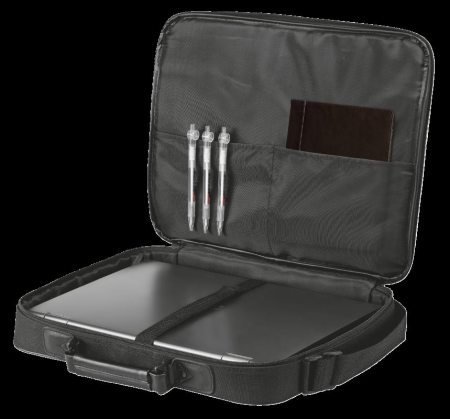 "Geanta Trust Atlanta Carry Bag 16"" laptop black4"