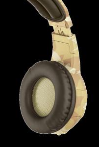 Casti cu microfon Trust GXT 310D Radius Gaming Headset - desert camo8