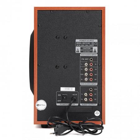Boxe Serioux 5.1 SoundBoost HT5100C, 140W RMS, culoare lemn de cires [3]