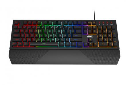 Tastatura Gaming AOC GK200 - Mechanical Feeling US Int General Model name GK2000