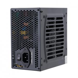 Sursa ATX Serioux 550W, Solas White, Eficienta >80%, Certificare 80+ White, Ventilator 12cm cu control termic, PFC Activ, Protectii: OCP/OVP/UVP/SCP/OPP, cabluri mansetate, 20+4 Pin (500mm), 2xHDD (403