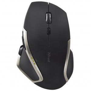 Mouse Trust Evo Advanced, Wireless, Negru2