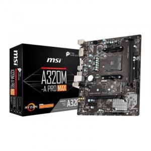 Placa de baza MSI A320M-A PRO MAX AMD AM4 mATX -Resigilat0