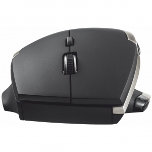 Mouse Trust Evo Advanced, Wireless, Negru3