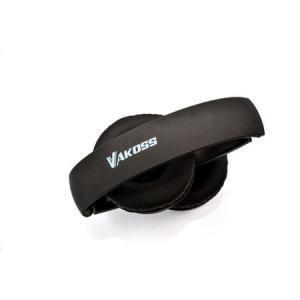 Set casti microfon Bluetooth 4.2, SK-841BX, pliere, Vakoss, negru2