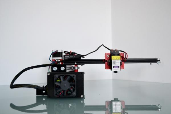 Actuator 2 axe 20x30 CM 1