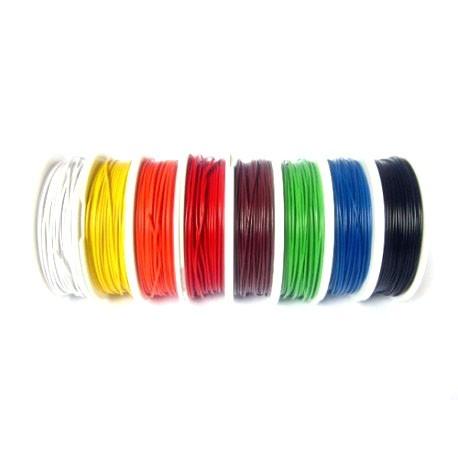 Cablu 22AWG 300V Negru 0