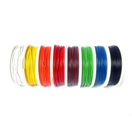 Cablu 22AWG 300V Alb 0