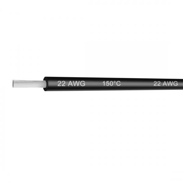 Cablu 22AWG 300V Negru 1