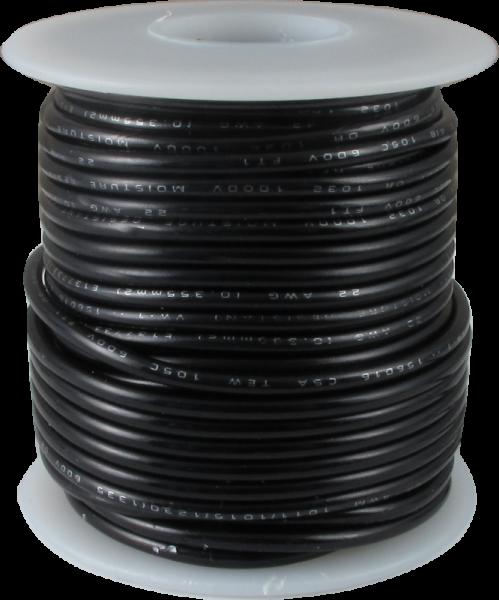 Cablu 22AWG Siliconic Servo Negru 0.5mm 300/500V 0
