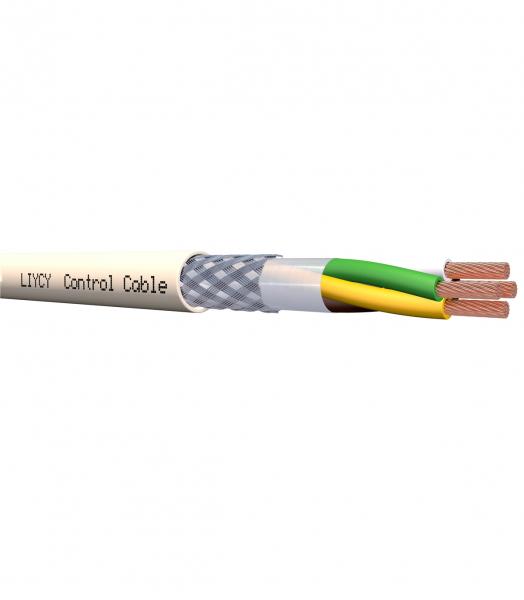 Cablu 4x1.5mm2 ecranat PVC 350V  tresă de cupru cositorit; LSZH; gri 0