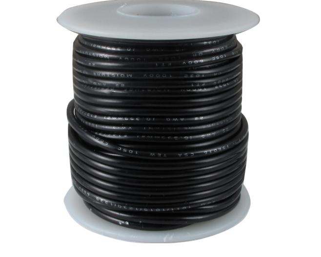 Cablu litat pentru panouri solare 2,5mm2 negru [0]