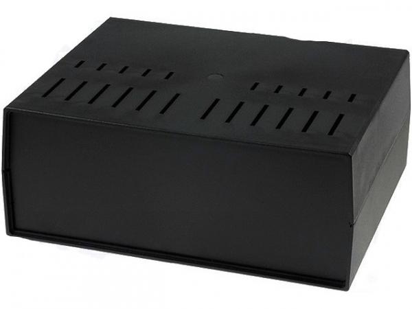 Carcasa panou ventilata 294x217x120 neagra cutie 0