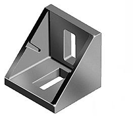 Coltar 30x30mm Aluminiu 0