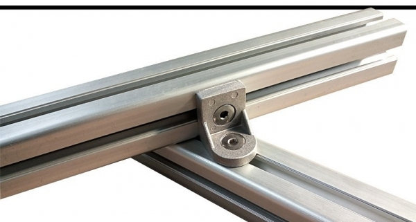 Coltar rotativ 20x20mm Aluminiu 0