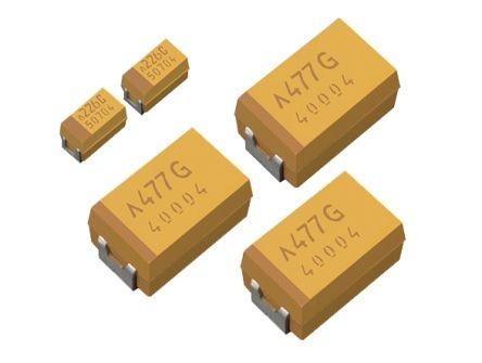 Condensator cu tantal low ESR 100uF 6,3VDC 0