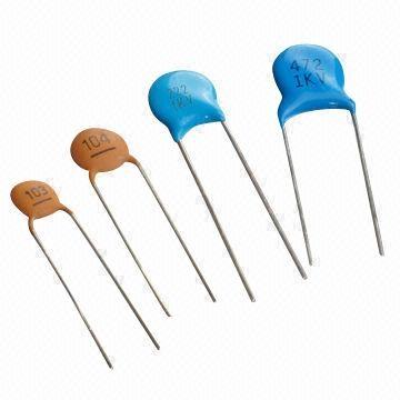 Condensator ceramic THT 1nF 1kV 0