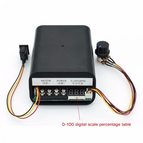 Control PWM motor 10-55V 60A 0