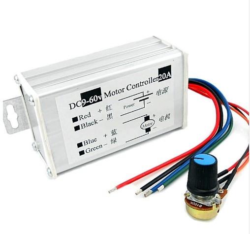 Control PWM motor 9-60V 20A incapsulat 0
