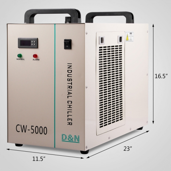 CW5000 Chiller Industrial Racitor 1