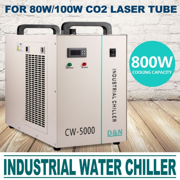 CW5000 Chiller Industrial Racitor 0