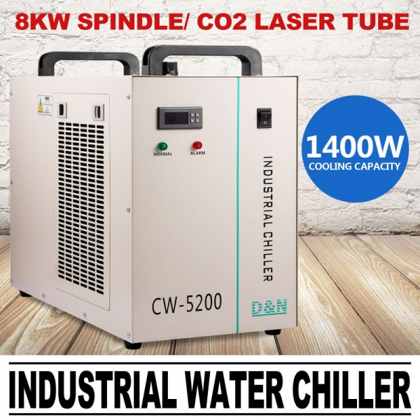 CW5200 Chiller Industrial Racitor 0
