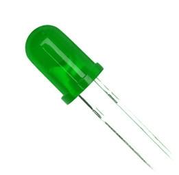 Dioda LED Verde 3mm 0