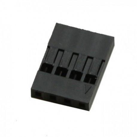 Conector Dupont 4 pin 0