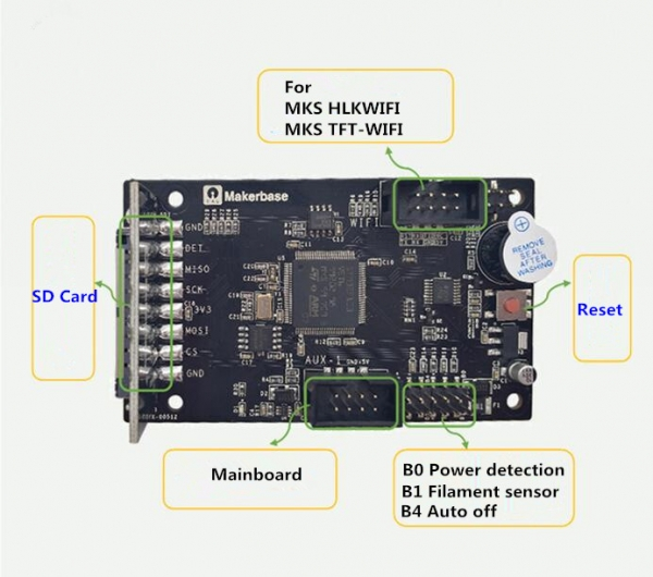 Ecran display TFT  MKS TFT24  touch screen 1