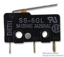 Endstop lamela Omron SS-5GL 3A 250V 0
