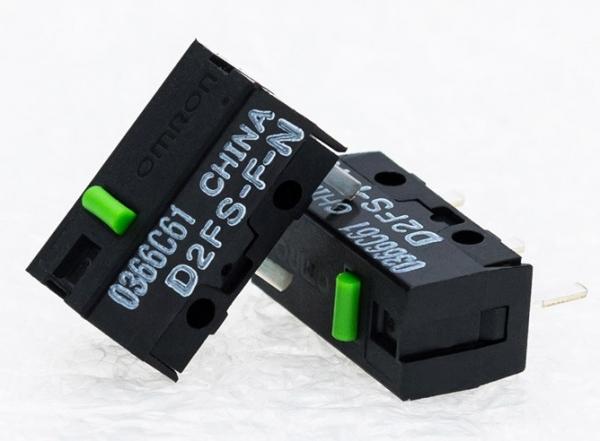 Endstop Omron D2FS-F-N 0,1A / 6VDC 0