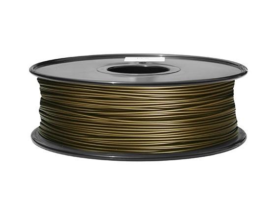 Filament 1.75 mm Bronz  (pudră metalică) 0.5KG 0
