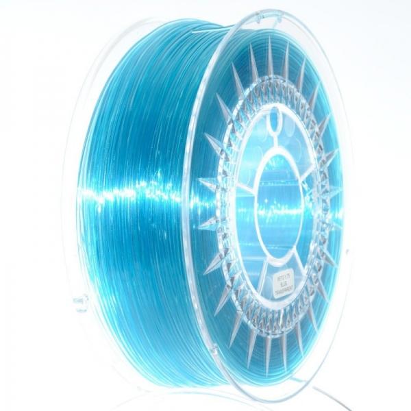 Filament PETG 1.75 Albastru Translucid / Blue Transparent  Devil Design 0