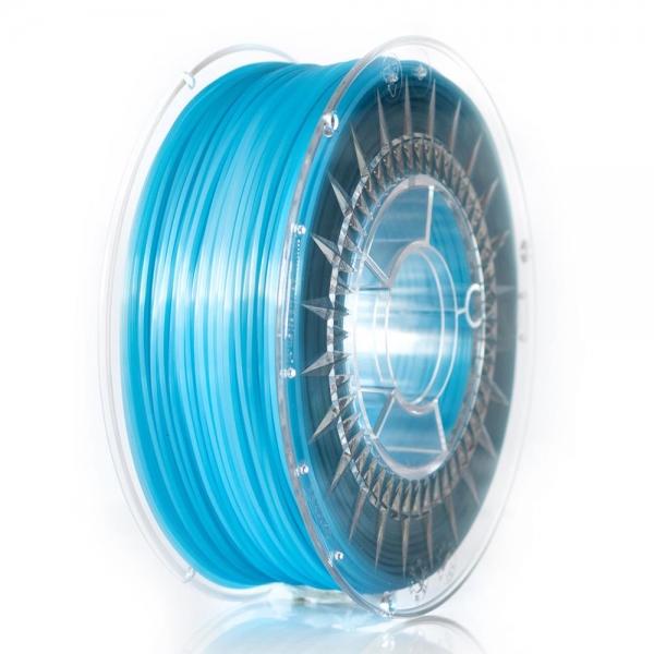 Filament Pla 1.75 Blue Semi transparent  Devil Design 0