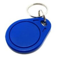 Breloc RFID albastră 100÷150kHz plastic 64bit; 4g 0