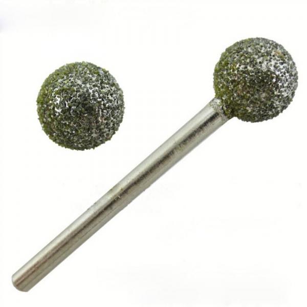 Freza diamantata 2.5mm rotunda fina ball nose 0