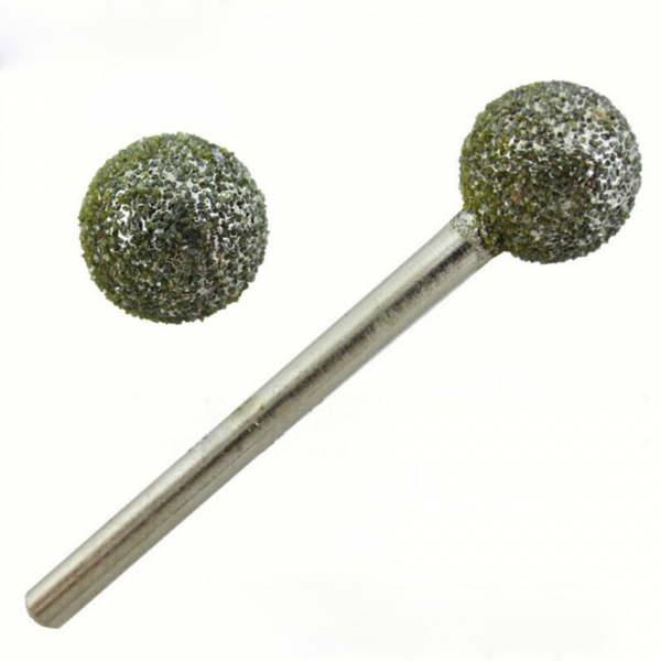 Freza diamantata 5mm rotunda dura ball nose 0