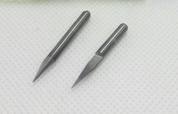 Freza PCB 0.1 mm 20 grade triunghi Cutit Tungsten 0