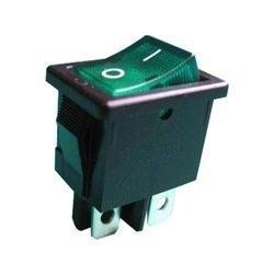 Intrerupator Rocker 13.8x9 mm Verde 0
