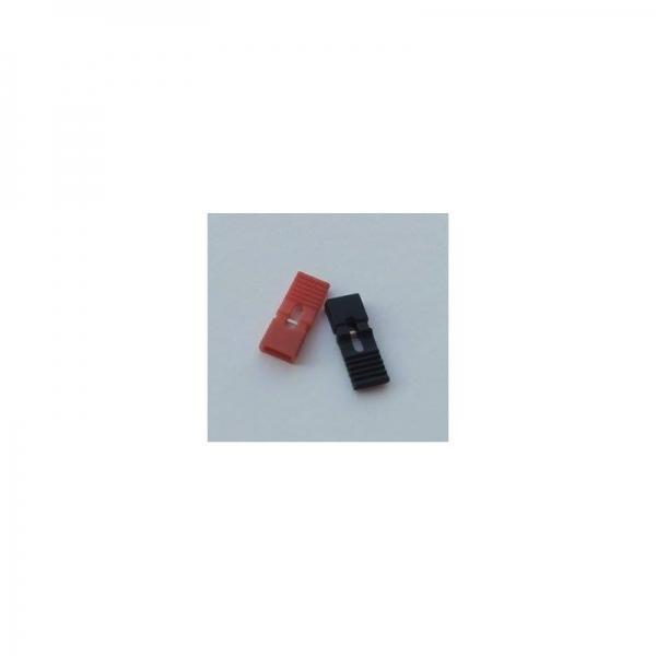 Jumper de 2.54 mm Negru cu suport [0]