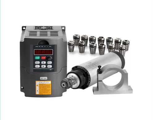 KIT Motor frezare 1.5 KW racire aer + Inverter 0