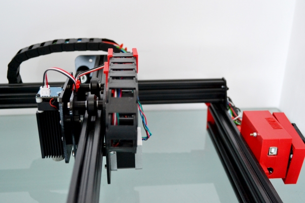 Laser gravura 2.5W  20x30 CM 2