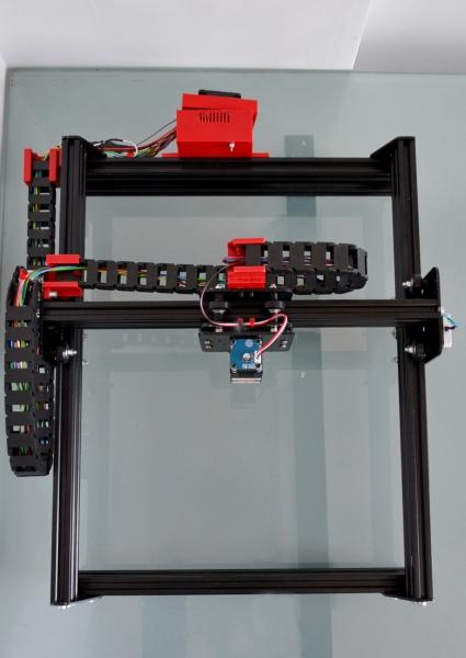 Laser gravura 2.5W  20x30 CM 0