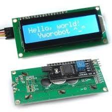 LCD alfanumeric 16 x 2  + i2C 1