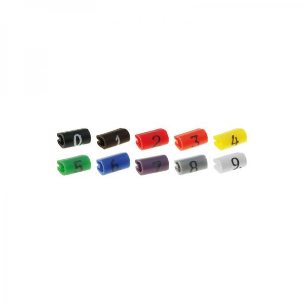 Marker pentru cablu Galben 0