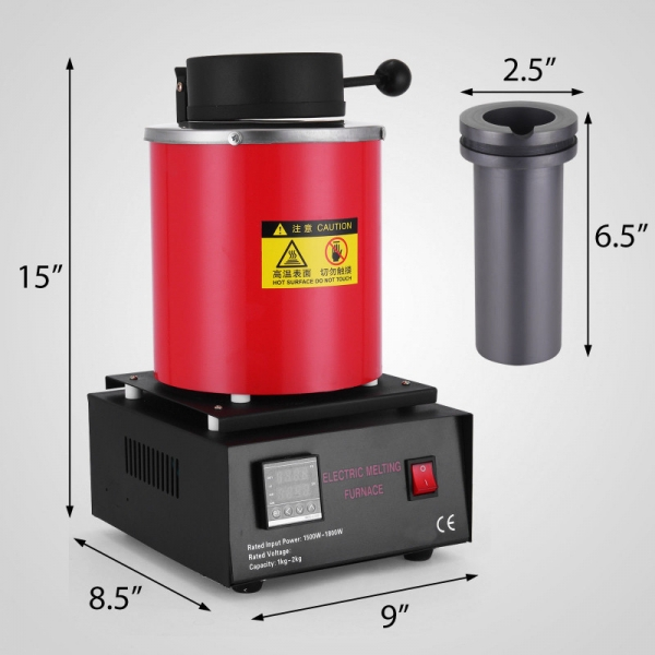 Melter 2KG topire topitor electric 0