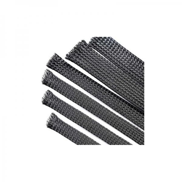 Mesh 10 mm PET Cablu Negru 0