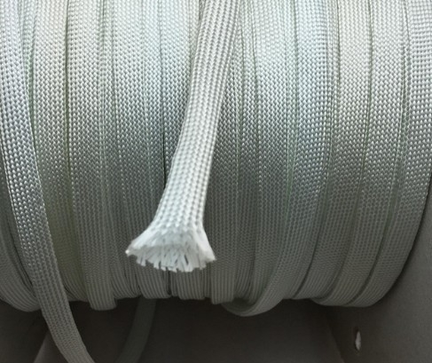 Mesh 4 mm Fibra de sticla Cablu Alb 0