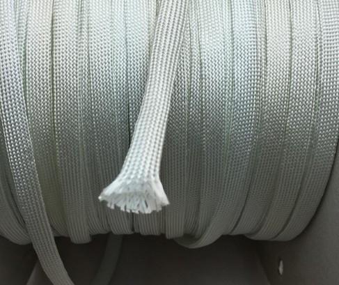 Mesh 9 mm Fibra de sticla Cablu Alb 0